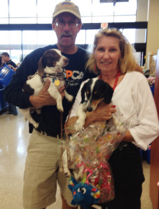 "Jackson came by to say ""hi"" Adopted! Furry Valentine's Day Adoption Event Texas Animal Guardians"