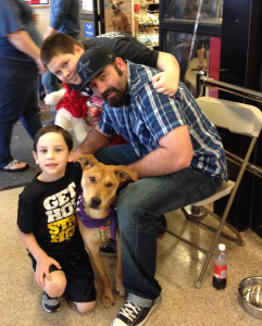*HollyAdopted2 Furry Valentine's Day Adoption Event Texas Animal Guardians